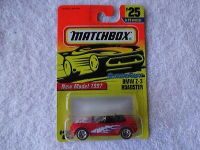 $5.50 • Buy Matchbox Superfast BMW Z-3 Roadster #25