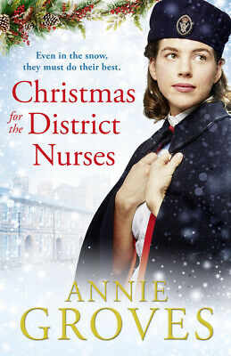 The District Nurses Series: Christmas For The District Nurses By Annie Groves • 3.55£