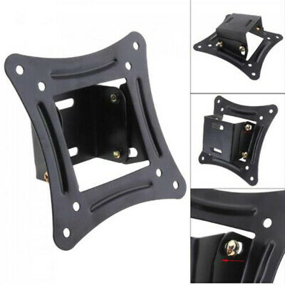 Cold Rolled Plate Wall Mounted Monitor TV Bracket Stand Black 1PC Holder Hook • 5.36£