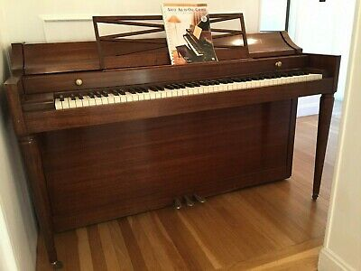 $100 • Buy Baldwin Acrosonic Pecan 88 Key Spinet Piano