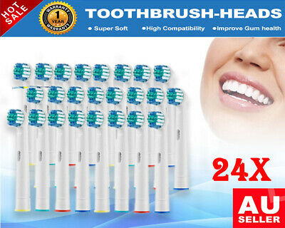AU30.99 • Buy 24x Replacement Electric Toothbrush Heads For Oral B Braun Use Children & Adult