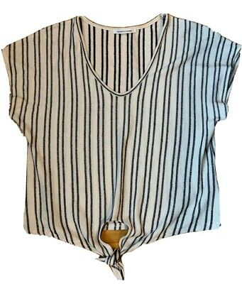 $ CDN19 • Buy Anthropologie Caution To The Wind Women's Lightweight Striped Top | Size L