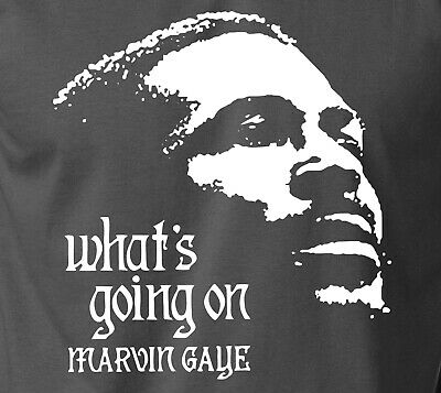 £12 • Buy Marvin Gaye WHATS GOING ON T-Shirt Vintage Retro Motown Soul Funk Jazz S-6XL Tee