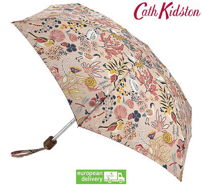 Cath Kidston Magical Memories Tiny Flat Folding Umbrella Handbag Size With Cover • 25.49£