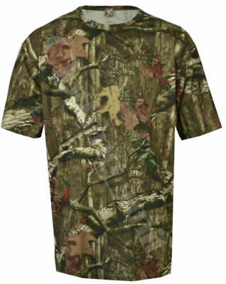 8XL MENS JUNGLE CAMOUFLAGE SHIRT SHORT SLEEVE TSHIRT TOP GREEN BROWN TREE S