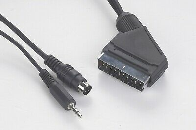 SCART Plug To S-Video + Audio 5 Metre Cable - CCV-4444-5M  • 4.99£
