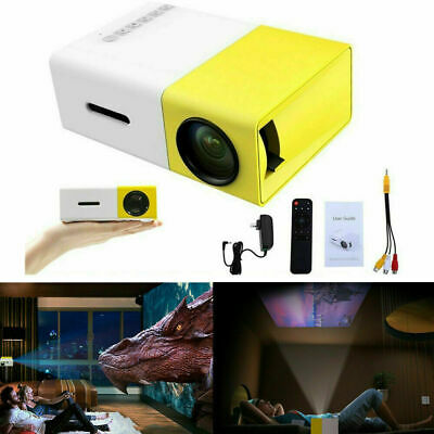 AU55.99 • Buy Portable Mini Projector YG300 3D HD LED Home Theater Cinema 1080P AV USB HDMI AU