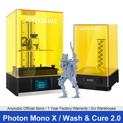 AU229 • Buy AU ANYCUBIC Photon 3D Printer UV Resin LCD High Precision Size 115mm*65mm*155mm