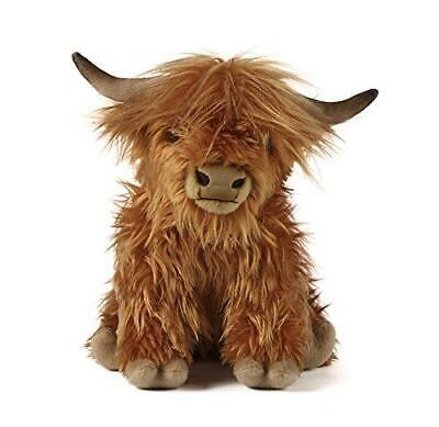 £24.99 • Buy Living Nature Highland Cow Soft Toy With Sound 30cm