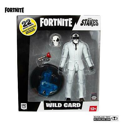 $ CDN25.31 • Buy Fortnite High Stakes WILD CARD Action Figure McFarlane Toys Epic Games