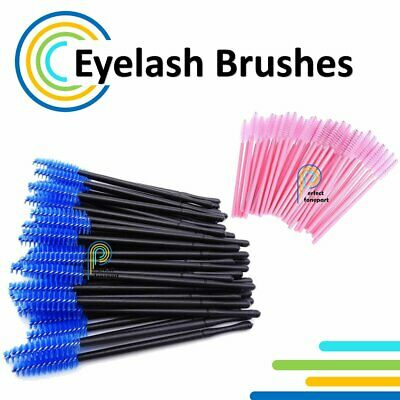 10-103pcs Eyelash Brushes Disposable Mascara Wand Lash Extension Applicator Tool • 5.45£