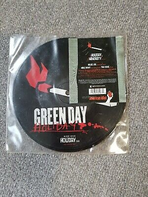 Green Day - Holiday - 7  Vinyl - Picture Disc - 7 Inch • 9.99£