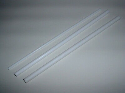 1 Ft Long White Ptfe Teflon Round Rod Bar High Temp Low Friction 6mm To 20mm Od • 4.99£