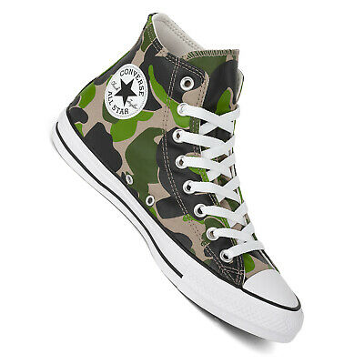 Converse Chucks Hi Camo Men's Sneaker Camouflage Black Candied Ginger 166714C • 73.44£