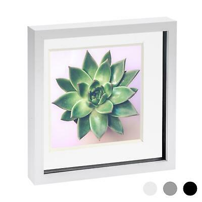 £10.99 • Buy 10 X 10 3D Box Frame Photo Picture Deep Display Shadow With 8 X 8 Mount