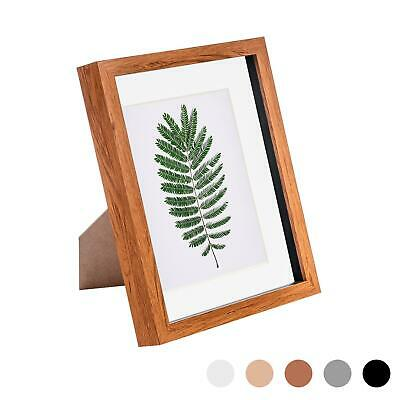 £9.99 • Buy 8 X 10 3D Box Frame Photo Picture Deep Display Shadow With Mount