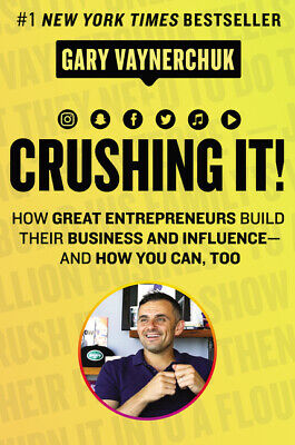 AU49.79 • Buy BOOK NEW Crushing It!: How Great Entrepreneurs Build Their Business And Influenc