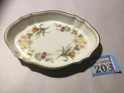 """£8 • Buy Wedgwood """"Mirabelle"""" Small Plate / Butter Dish / Trinkets"""