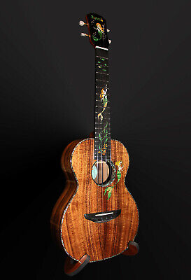 AU1088.91 • Buy Mr. Mai Mermaid Tenor Ukulele W/Case - Solid Koa