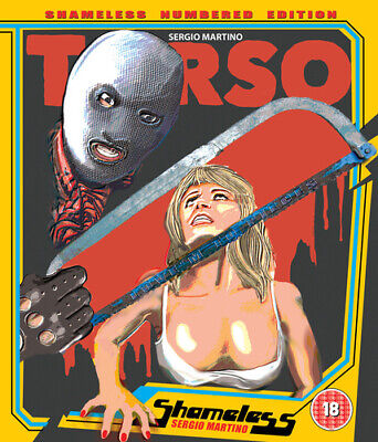 Torso Blu-Ray (2017) Sergio Martino Cert 18 ***NEW*** FREE Shipping, Save £s • 15.69£