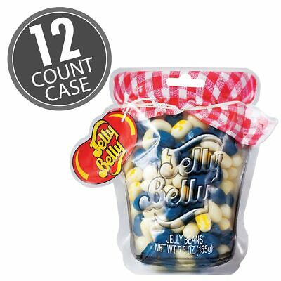 Jelly Belly Blueberry Muffin Mix Mason Jar 5.5 Oz Bag (12 Count Case) • 46.29£