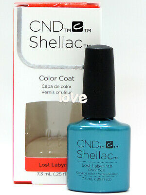 AU14.82 • Buy CND Shellac GelColor 0.25fl.oz UV/LED Nail Polish #90799- Lost Labyrinth