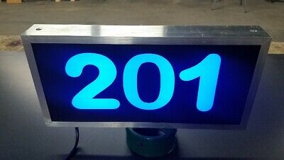 £86.97 • Buy LED Lighted Address Sign, Plaque Address Numbers, House Numbers, House Marker