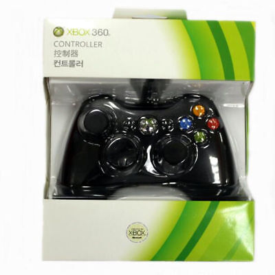 AU29.71 • Buy 1pc Genuine Wired Microsoft Xbox 360 Gaming Game Controller Green Box