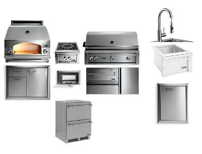$24220 • Buy Lynx Professional Outdoor Kitchen With 42  Built In Grill, Sink, Oven, Storage