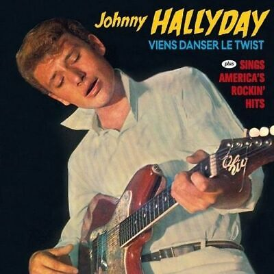 AU21.99 • Buy Johnny Hallyday - Viens Danser Le Twist / Sings America's Rockin New Cd