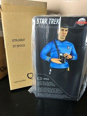 $ CDN888.08 • Buy QMx Star Trek TOS Spock 1:6 Scale Articulated Figure Limited Reissue Version
