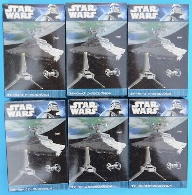 AU145 • Buy F-toys Star Wars - Vehicle Collection 4 - FULL SET Of 6 - Trading Kit - MIB
