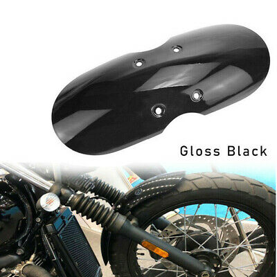 Motorcycle Front Fender Mudguard Universal For Scooter Offroad Cruiser Bobber MO • 6.64£
