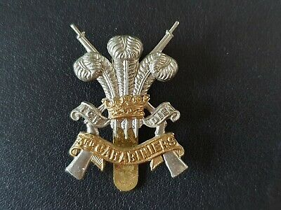 British Army Military Cap Badge The 3rd Carabiniers (P.O.W.'s Dragoon Guards) • 9.99£