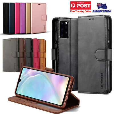 AU8.49 • Buy For Samsung Galaxy S20 Ultra S20+ S20 FE Premium Leather Wallet Flip Case Cover