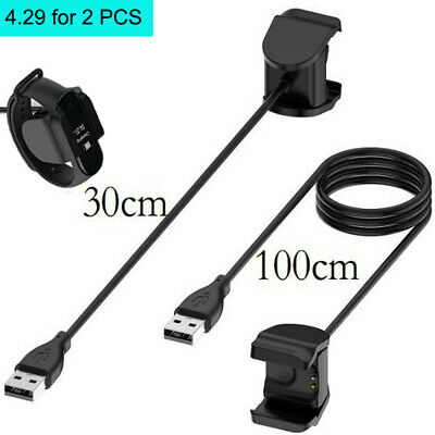 $4.29 • Buy For Xiaomi Mi Band 4  USB Charging Cable Charger Dock Adapter,2PCS 30cm & 100cm