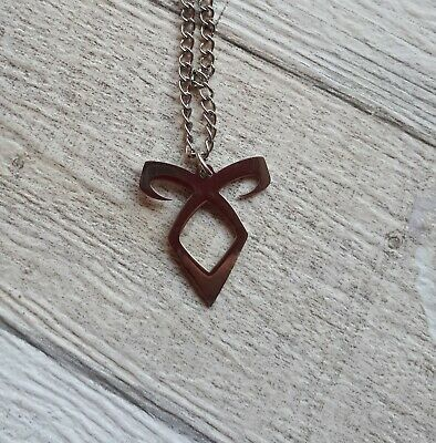 MORTAL INSTRUMENTS LIGHTWOOD NECKLACE Pendant  SHADOWHUNTER CLARY Rune Angelic  • 5.50£