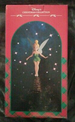 $65 • Buy Disney Christmas Collection Tinkerbell Tree Topper With Box Disneyana Holidays