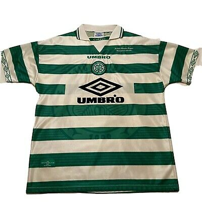 $35 • Buy UMBRO Celtic Football Club Soccer Jersey/shirt Mens XL Scottish Premier Champs