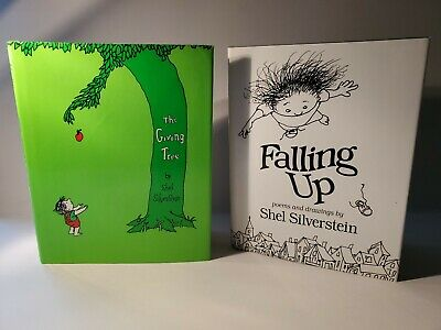 SHEL SILVERSTEIN: THE GIVING TREE & FALLING UP (hardcovers) • 10.89£