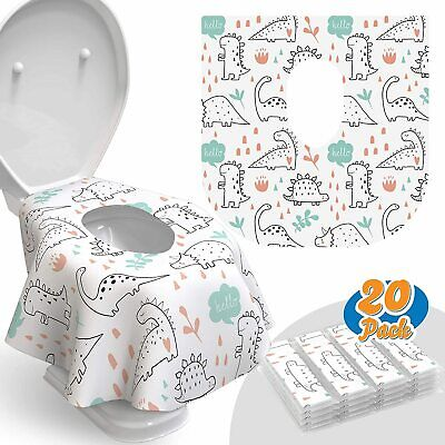 £9.91 • Buy 20 - Disposable Toilet Seat Covers
