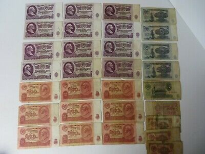 $29.96 • Buy Russia USSR Soviet Paper Currency 471 Rubles 30 Bills Dated 1961 #4008