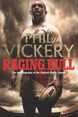 £3.16 • Buy Raging Bull: The Autobiography Of The England Rugby Legend By Phil Vickery