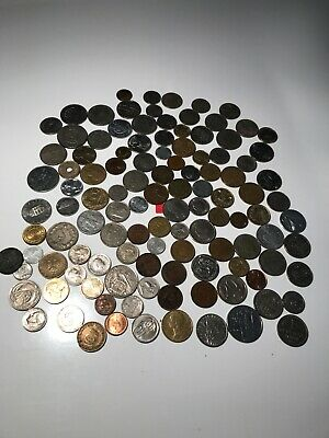 Joblot Old Foreign Coins • 7£