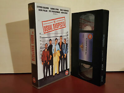 AU3.69 • Buy The Usual Suspects - Kevin Spacey - Stephen Baldwin - PAL VHS Video Tape (T118)