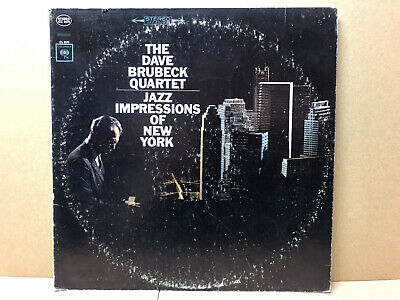The Dave Brubeck Quartet ‎– Jazz Impressions Of New York - Columbia ‎– CS 9075  • 3.99£