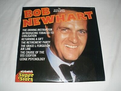 Bob Newhart - The Greatest Comedy Album LP • 4.50£