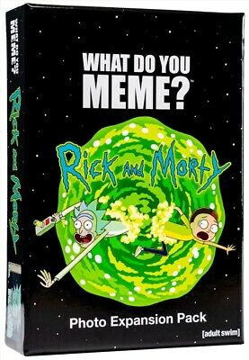 AU23.99 • Buy Card Game: What Do You Meme, Rick And Morty Expansion Pack, Merchandise