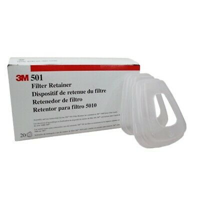 $ CDN74.15 • Buy 3M 501 Filter Retainer For 5N11 (20 Pack) System Component (Holder) , Pack Of 20