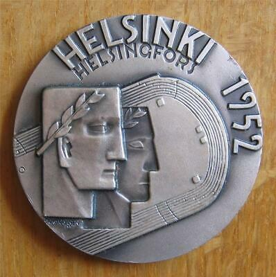 £362.16 • Buy XR Silver-plated Olympic Participation Medal Helsinki 1952 - Guaranteed Genuine